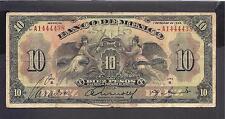 Mexico p-22g , VG-F, 10 Pesos, 1934 , Serie H