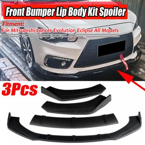 For Mitsubishi Lancer Outlander Eclipse Evo Front Bumper Lip Splitter Spoiler