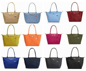 Details about NWT Longchamp Le Pliage Club Medium Small Nylon Shoulder Tote  MANY Colors AUTH!