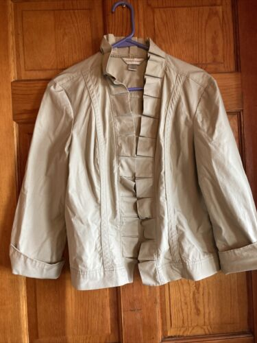 Christopher and Banks women's large cotton jacket