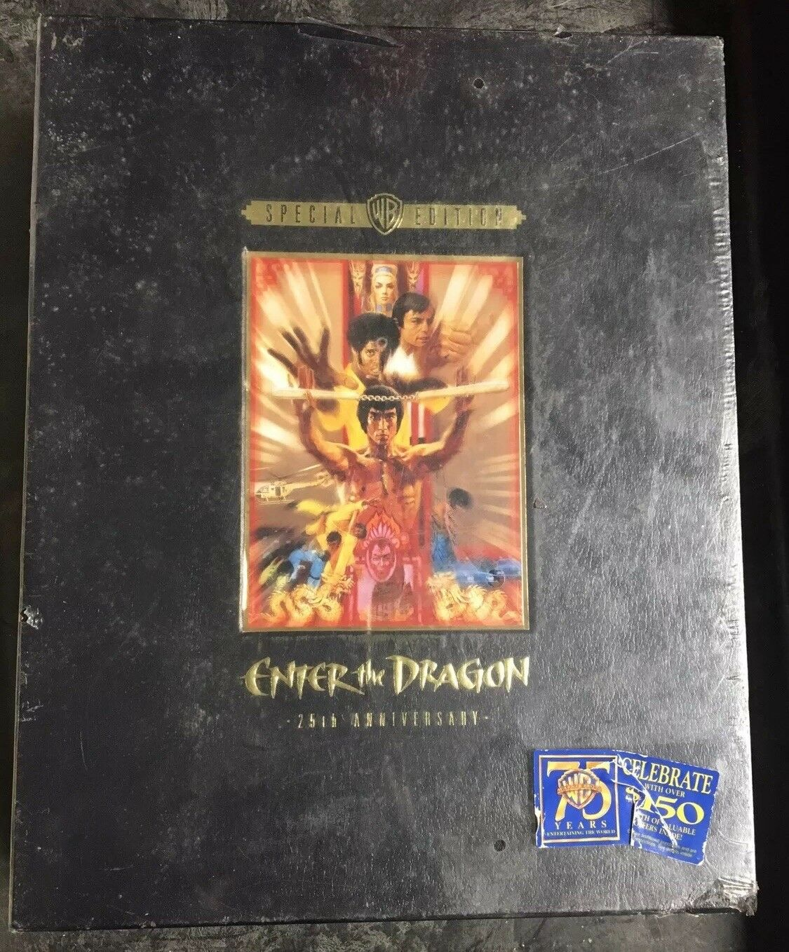 Brand New Special Edition Enter the Dragon 25th Anniversary (VHS,1998) Bruce Lee
