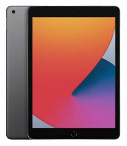 Apple iPad 8th Gen (2020) 10.2in Wi-Fi 128GB iPad IOS 14 Space Grey UK Model New