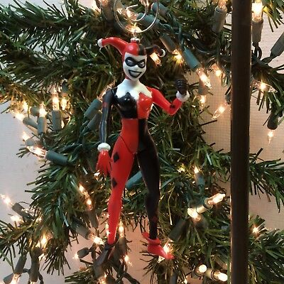 Harley Quinn Christmas.Dc Comics Harley Quinn Christmas Tree Ornament 4 Custom Batman Shooting Punch Ebay
