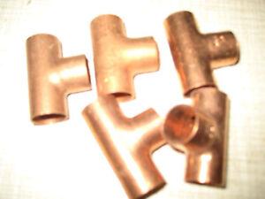 T-Stueck-Kupfer-15-mm-zum-Einloeten-5-Stueck