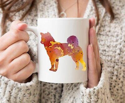 Watercolor Akita Dog Art Mug Akita Coffee Mug Akita Lover Gift
