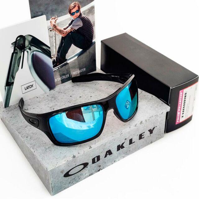 Cattiva fede Brillare penna  Oakley Turbine Sunglasses Polished Black PRIZM Deep Water Polarized H2O  Lenses for sale