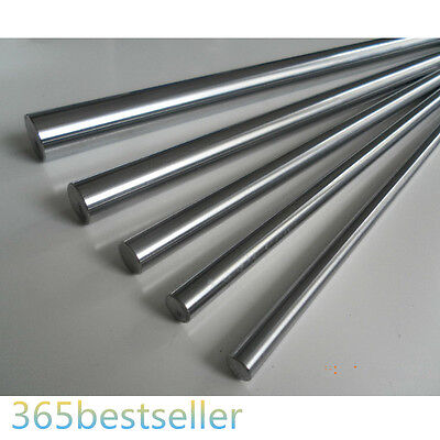 200-1200mm OD 12mm Cylinder Liner Rail Linear Shaft Optical Axis(300 500 1000)