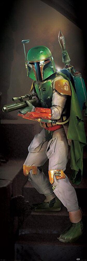 Star Wars Türposter Boba Fett Poster Plakat Größe 53x158