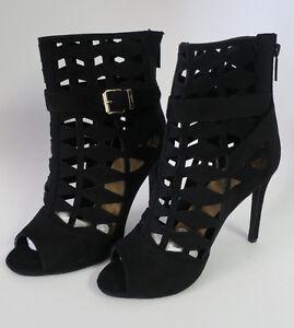 BLACK-Fashion-Peek-a-Toe-High-Heel-Women-039-s-Sandal-Shoes-DBDK-Zola-8L