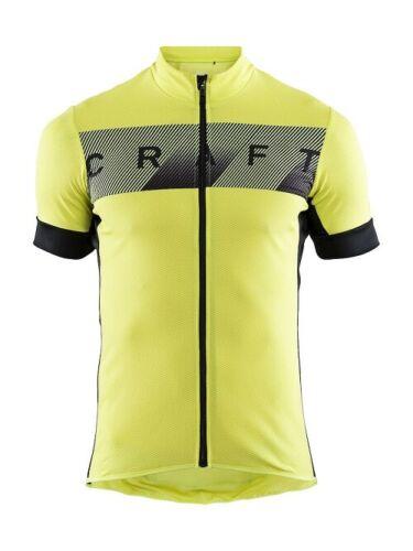 Craft Reel Jersey fonctionnel Bike-Maillot pour homme en jaune/noir taille XL