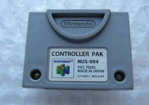 Official-Nintendo-64-N64-OEM-Video-Game-Memory-Card-Controller-Pak-Pack-SAVES