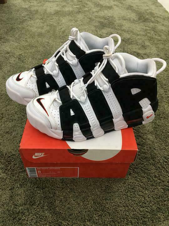 Nike Air more Tempo Oreo Midcut 414962 05 Homme Casual Baskets JP26.0cm