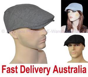 Men-Ladies-Unisex-Pageboy-Newboy-CABBIE-DRIVING-GOLF-FLAT-CAP-SUN-BRAD-IVY-HAT
