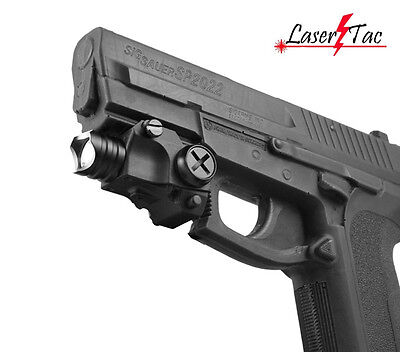 Flashlight for Walther P22 PPQ PPS PPX PK380 Ruger SR9C Beretta PX-4 Sig Sauer