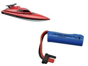 Ersatzteil Rennboot Speedboot Red Barracuda: Akku