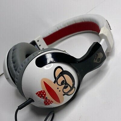 falso Birmania Reanimar  Paul Frank Skullcandy Hesh Headphones Julius Monkey *TASTED* | eBay