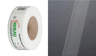 Sonderabschnitt 10 X Kobau Glasgitter-fugenband 0,10 M X 45 M Baustoffe & Holz armierung Von Gipskartonplatten- Fassade