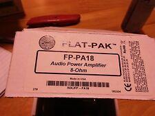 FLAT-PAK FP-PA18 AUDIO POWER AMP 8-OHM
