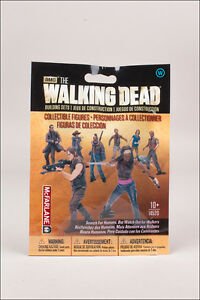 1 x walker aveugle Bag FIGURINE the walking dead Building set MBS 14520 McFarlane 							 							</span>