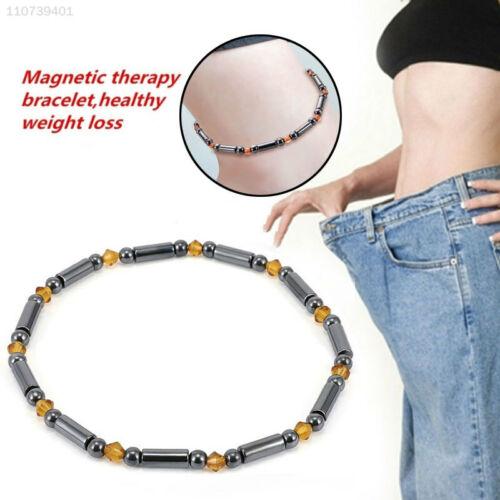 5797 Abnehmkette Magnetfußkette Schwarz Gewicht Reduzieren Fuß Für