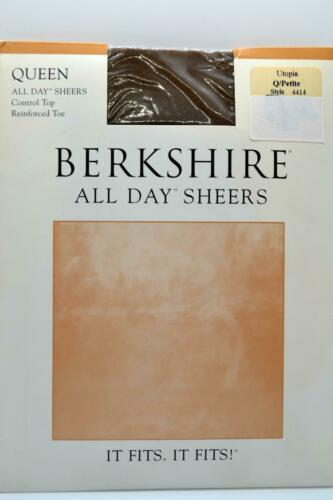 Queen Petite Sheer Hanes Berkshire Stockings Pantyhose 11 Colors New Pick 1