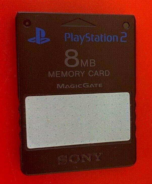 Sony PS2 PlayStation 2 8mb Memory Card - (LEY)