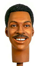 1:6 Custom Head of Eddie Murphy as Axel Foley Version 2 from Beverly Hills Cop
