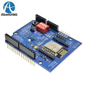 ESP8266-ESP-12E-UART-WIFI-WIRELESS-SCUDO-TTL-Convertitore-per-UNO-R3-Mega-Arduino