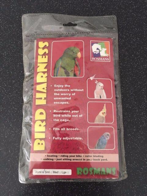 Bird Harness & Lead Extra Small