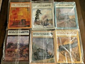 NEW-Vintage-Narrow-Gauge-And-Short-Line-Gazette-Complete-1994-6-Issues-Jan-Dec