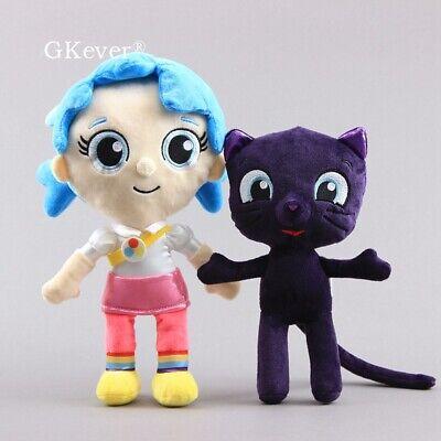 28CM ABC/&BBC New Hot Cartoon Bluey Family  Plush Stuffed  Figure Toys Kids Gift