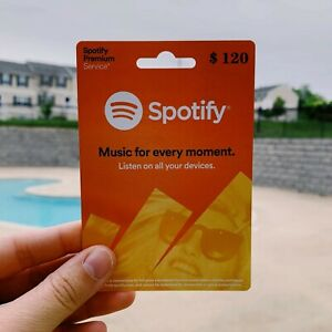 Spotify Premium USA / Japan Gift Card Value $120 - Email🚀