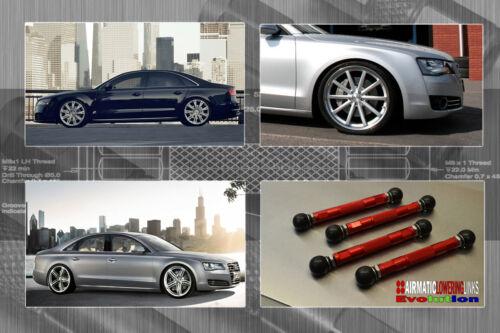 D4 AUDI A8 /& S8 LINKAGES EVOLUTION LOWERING KIT LINKS