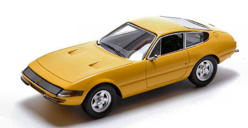 Ferrari 365 gtb   4 daytona 1969 gelb 1 43 modell rotline