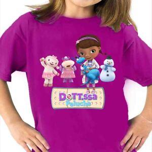 Dottoressa Peluche Tshirt Dotty Peluche Ospedale Dei Giocattoli Gioco T-shirt