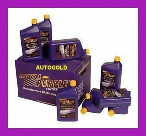 BMW-KIT-6-conf-OLIO-ROYAL-PURPLE-5W30-Xpr-Racing-5W-30-ADDITIVO-RADIATORE-ICE