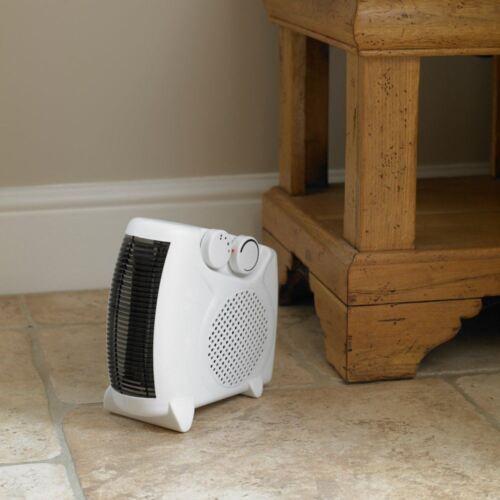 Kingfisher 2000W Portable Upright Flat Fan Electric Heater