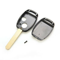 Replace Remote Key Fob Case Shell 2 Buttons for Honda Civic Accord Jazz FRV JX