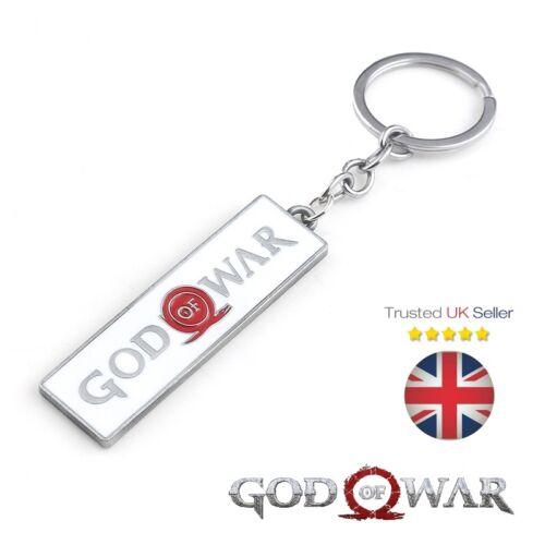 God OF WAR PS4 XBOX Babbo natale segreto Kratos Game Regalo Chiavi Metallo Portachiavi Portachiavi