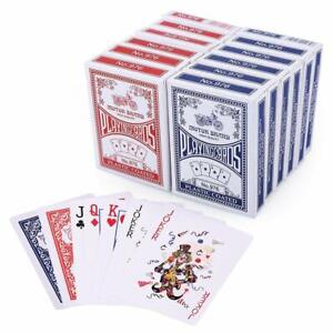 Playing-Cards-Poker-Size-Standard-Index-LotFancy-12-Decks-Player-039-s-Board-Game