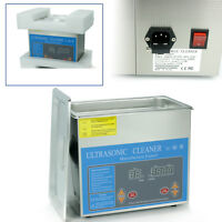 3l Commercial Ultrasonic Cleaner Heated Jewelry Ultrasonic Cleaner&digital Timer