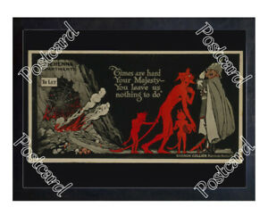 Historic-WWI-Recrutiment-Poster-Hell-amp-the-Kaiser-Postcard