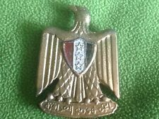 Iraq- Iraqi Armed Forces Visor Cap Hat Large Eagle Pin Badge.1960's