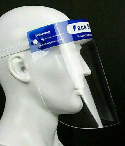 Full Face Visor Protection Shield UK Stock
