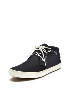 110-Mens-G-Star-Raw-Eton-Chukka-Sneakers-in-Blue-Indigo-Denim-Canvas-sz-12