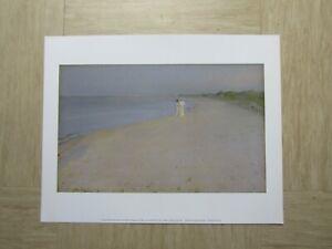 Vintage-Photo-art-print-Summer-evening-south-beach-Skagen-Peder-Kroyer