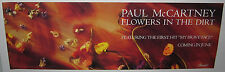 "PAUL McCARTNEY Flowers In The Dirt (1989 US 36x12 ""In-Store Only"" Promo Poster)"