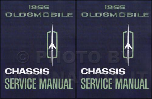 1966 Olds Shop Manual Set 442 Cutlass F85 88 98 Jetstar Toronado Starfire