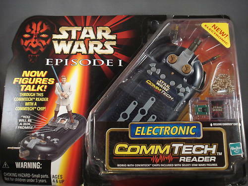 1998 Star Wars Episode I Electronic Commtech Reader Reader Reader f797e7