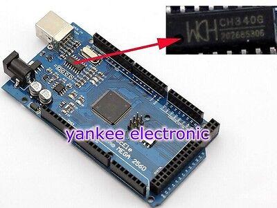 NEW ATmega2560-16AU CH340G MEGA 2560 R3 Board + Free USB Cable For Arduino